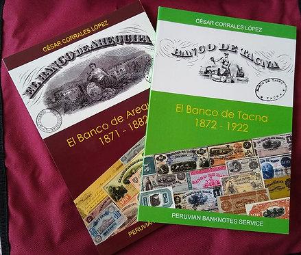 LIBRO - El Banco de Arequipa 1871 -1884 y El Banco de Tacna 1872-1922
