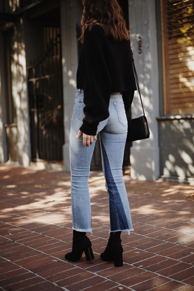 ON THE RISE: TWO-TONE DENIM