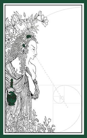 Amphictyonis, Greek goddess of wine and friendship.