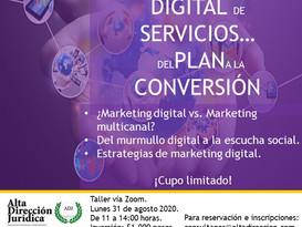 Mercadotecnia digital de servicios