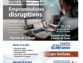 Disrupción + Innovación = Tu Futuro