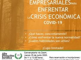 Estrategias empresariales para enfrentar la crisis económica Covid-19