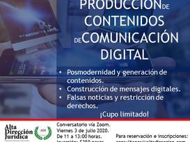 Ética en la producción de contenidos de comunicación digital