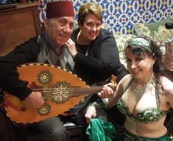 Shawkat and Nazira at Pasha