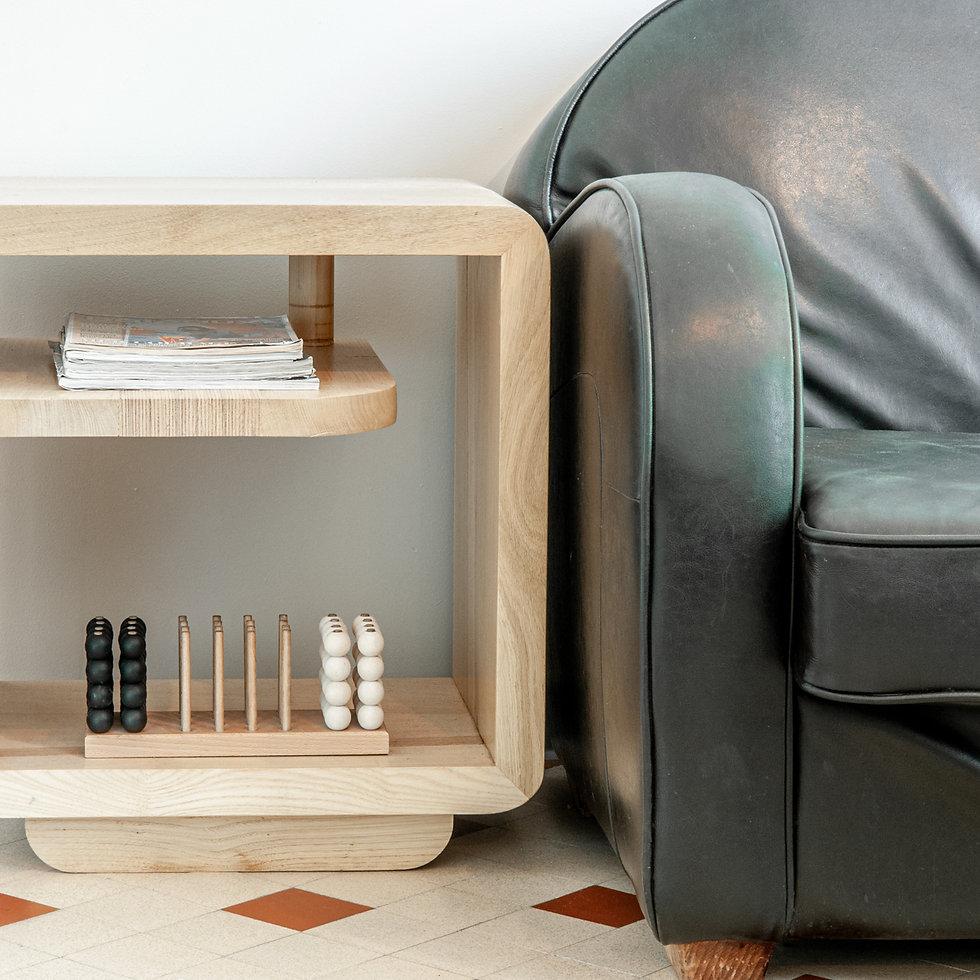 Gwenole GUERY | Mobilier en bois | Chevet en chêne