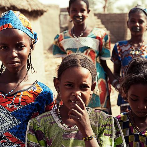 Jeunes filles peulhs de Sadja