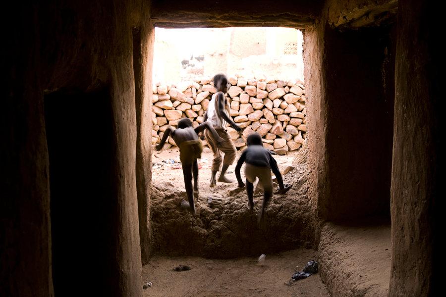 Enfants de Hombori _ Mali 2009