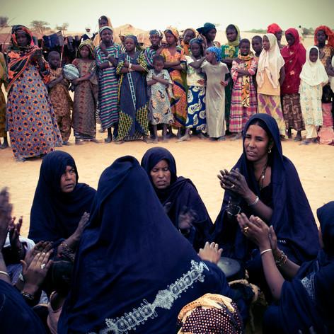 Femmes au tendé
