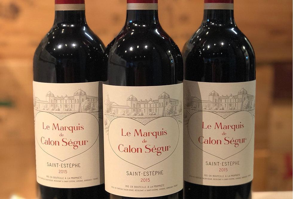 三級莊心心副牌 Le Marquis de Calon Segur 2016