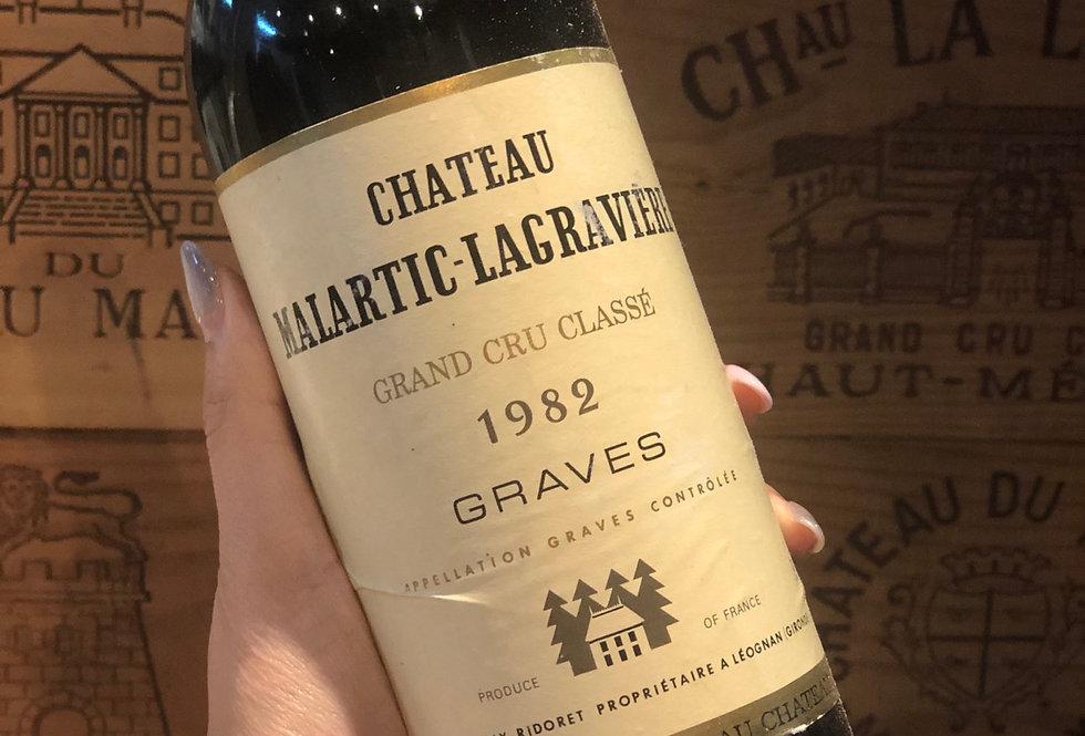 Chateau Malartic Lagraviere 1982