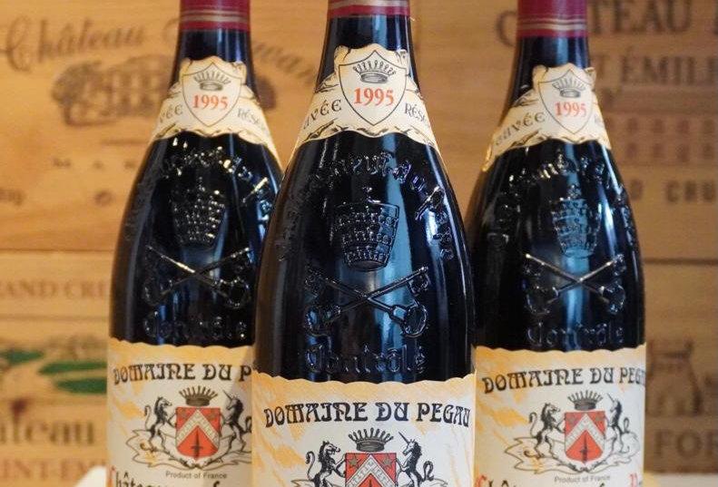 Domaine du Pegau Chateauneuf du Pape 1995
