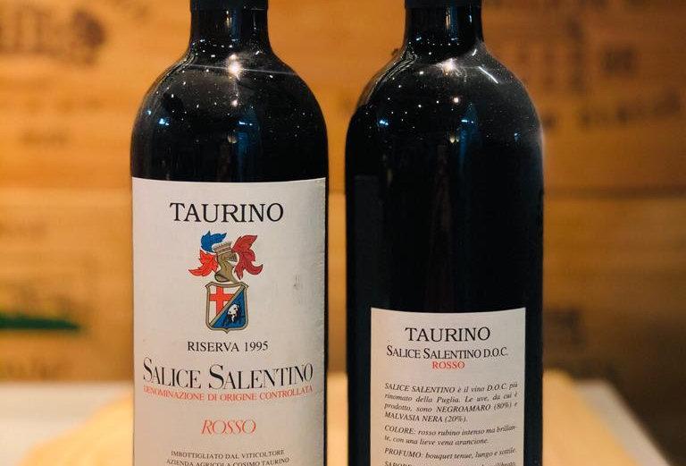 Cosimo Taurino Rosso Salice Salentino Riserva 1995