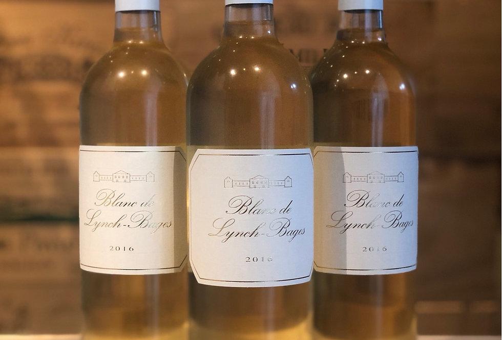 Blanc de Lynch Bages Bordeaux 靚次伯正牌白酒2016