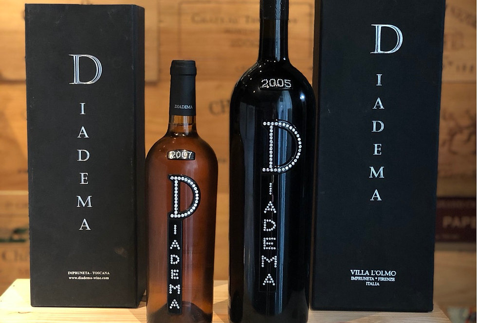 Diadema 紅白酒套裝