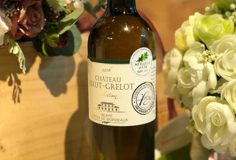 Chateau Haut Grelot Selection Blanc 2016