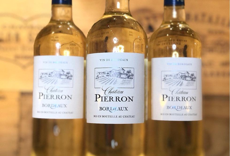 Chateau Pierron Bordeaux Semi Sweet 2019