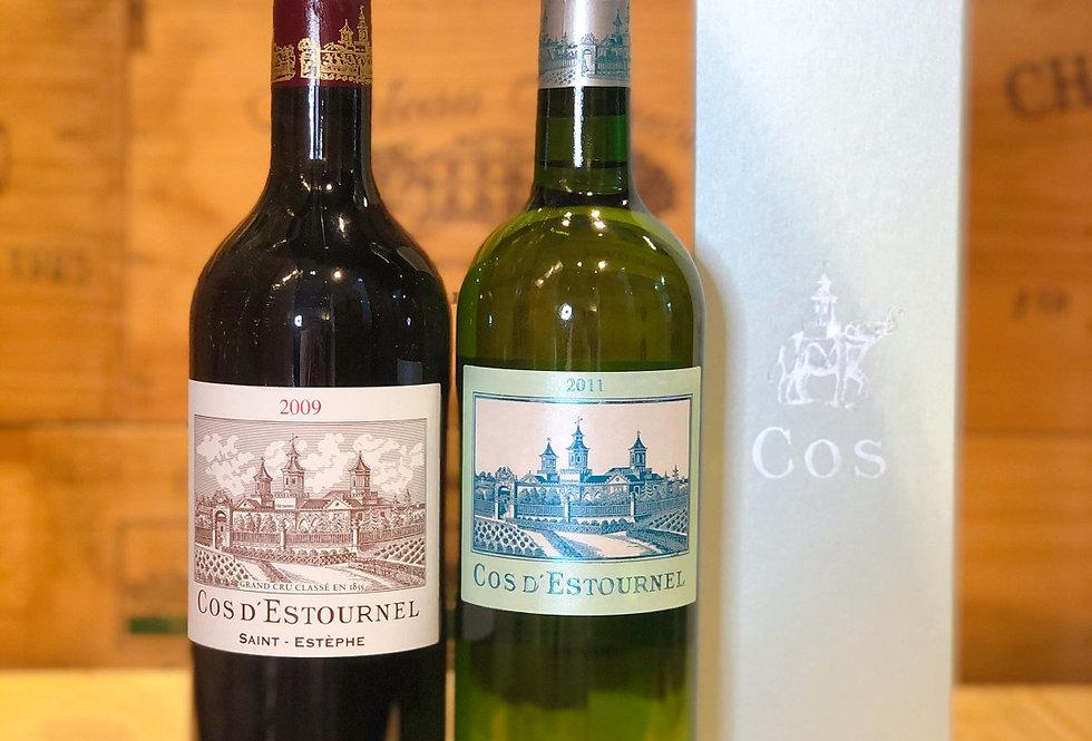 Chateau Cos d'Estournel 二級酒莊紅白酒套裝