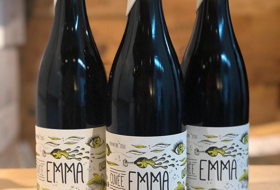 Grains D'Estuaire Cuvee Emma Vin Nature Merlot 2016