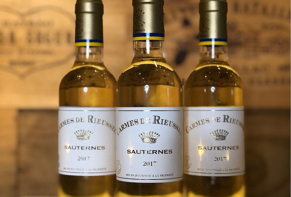 (半枝裝)Carmes de Rieussec Sauternes 2017 375ml