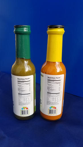 Spices of the Sun Hot Sauce Nutrition Labels