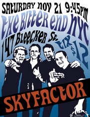 Skyfactor at The Bitter End Poster