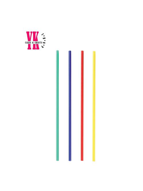 Rainbow Asst. Plastic Treat Sticks