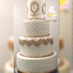 Ivory Gold Cake