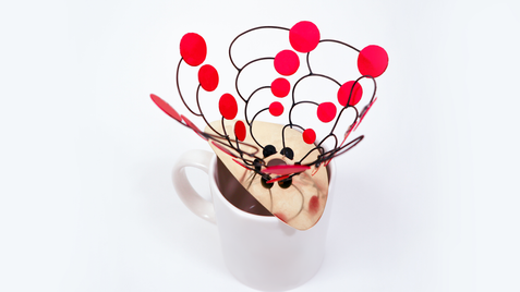 Mobile Filter Holder — Homage to Alexander Calder