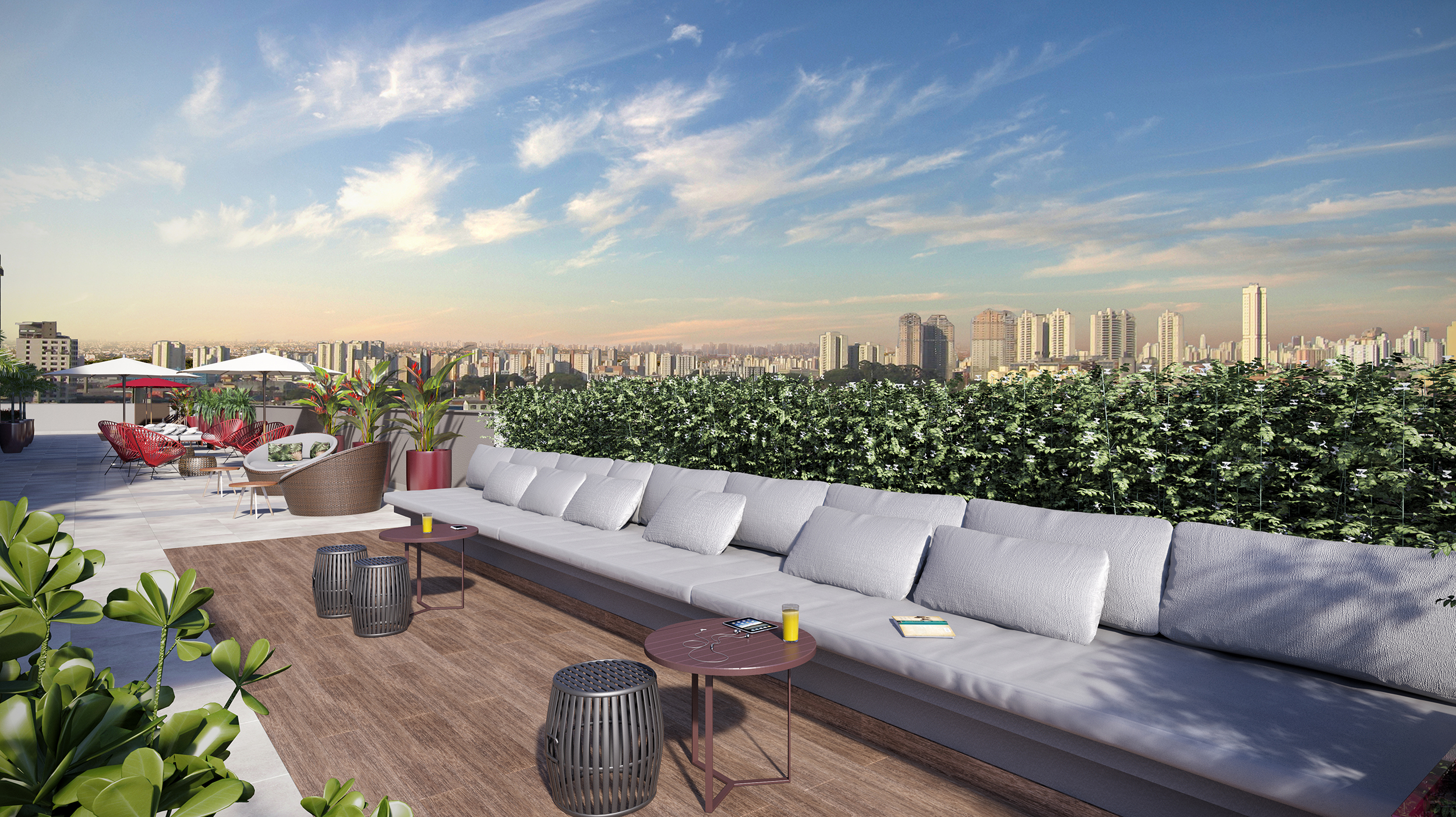 Lounge rooftop