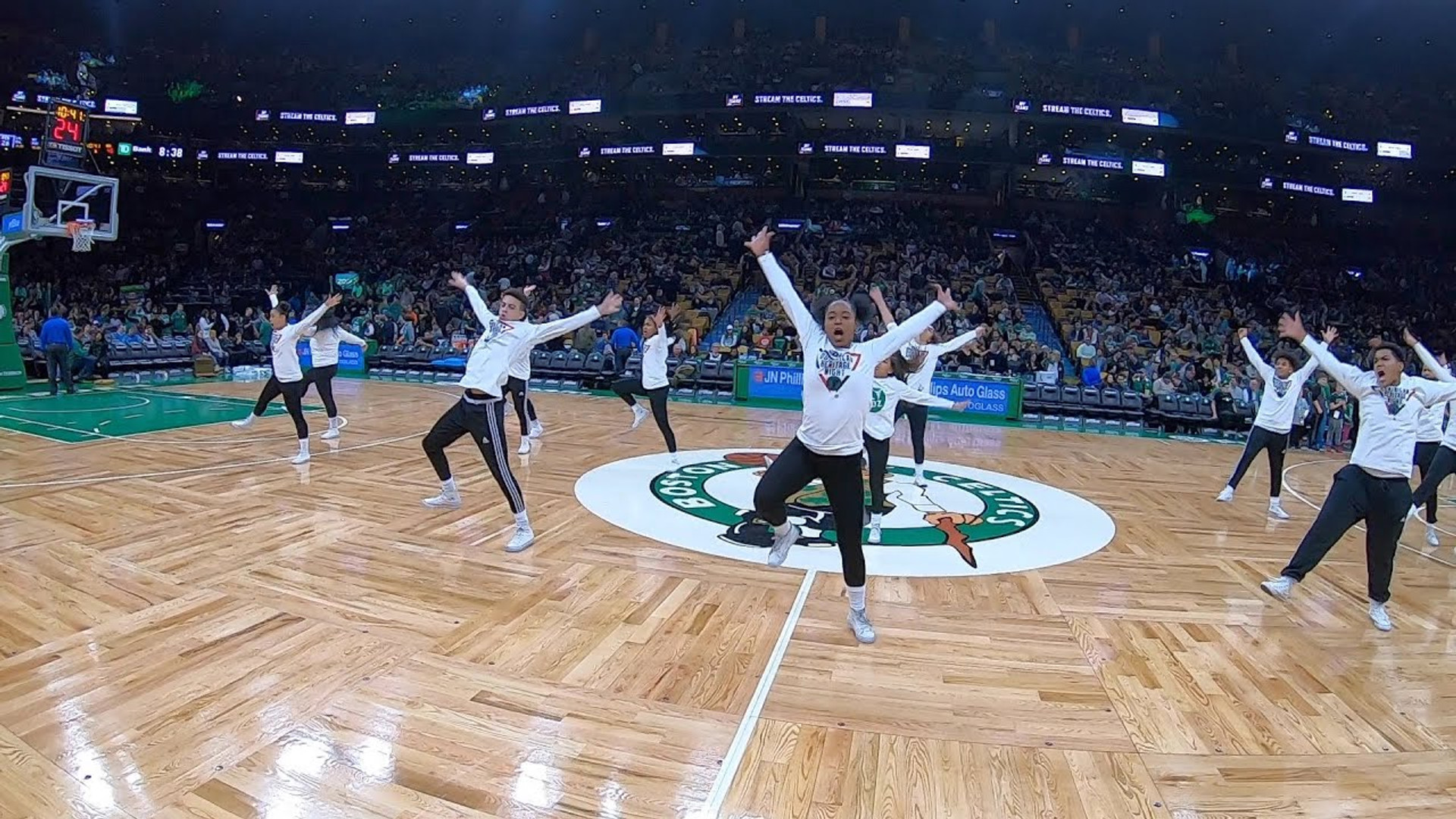 Boston Celtics Dance Performance