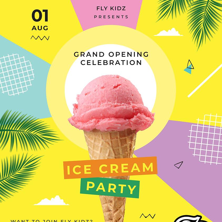 Fly Kidz Outdoor Ice Cream Party