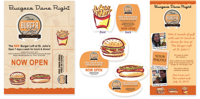 Burger Loft Marketing Campaign Hospitality Digital Marketing