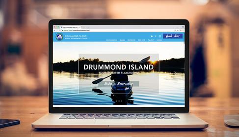 Drummond Island Resort website