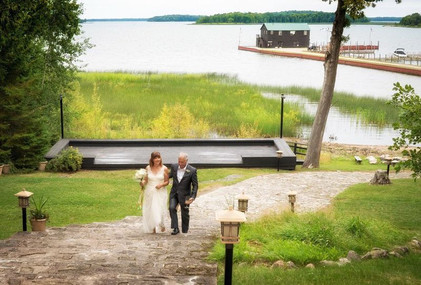 Just Married at Drummond Island Resort