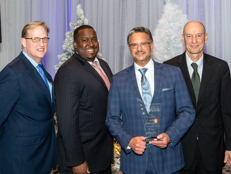 PAUL WEGERT HONORED WITH THE RD MUSSER HOTELIER OF THE YEAR AWARD