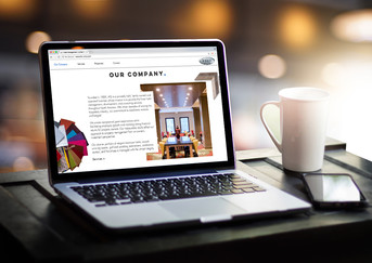 HIS Hotel Investment Services Website, Marketing, Copy, Design Layout