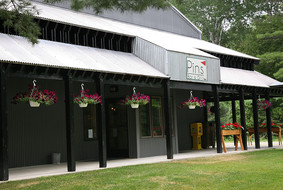 PINS Bar & Grill Outside Patio