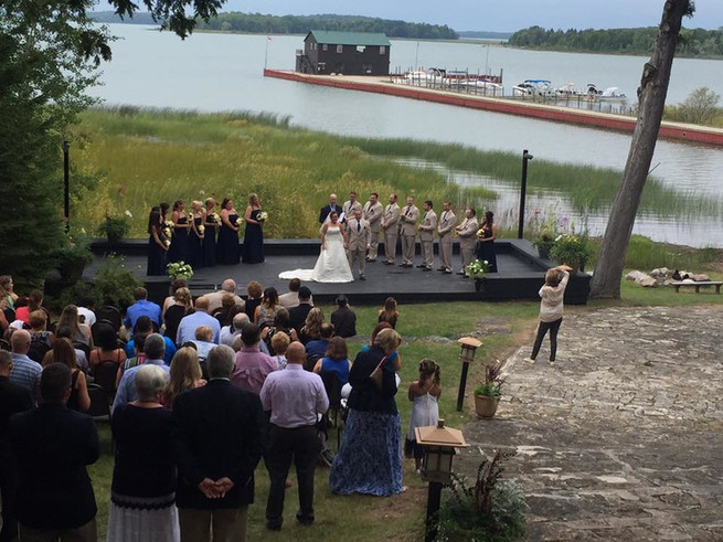 Martini Ceremony at Drummond Island Resort