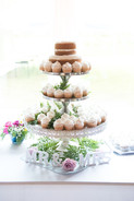 Beautiful wedding cake at Drummond Island Resort