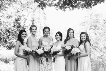 Bridal party at Drummond Island