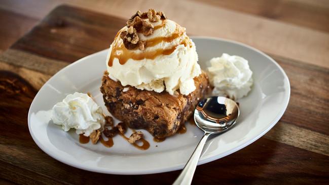 Dessert at Pins