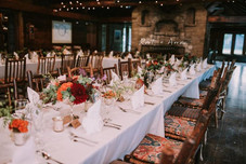 Wedding reception room at Drummond Island Resort