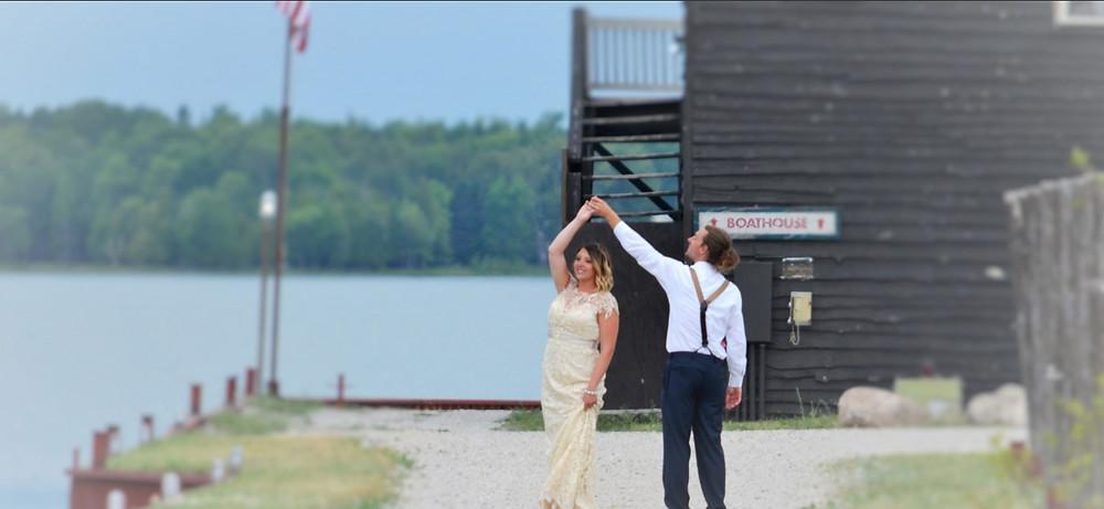 Get married at Drummond Island Resort