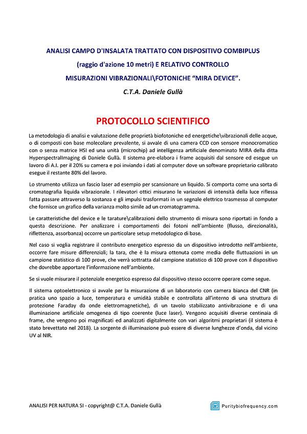 ANALISI INSALATA - Az.Agricola Fontanabo