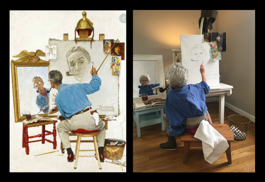 Recreating Masterpieces: Rockwell