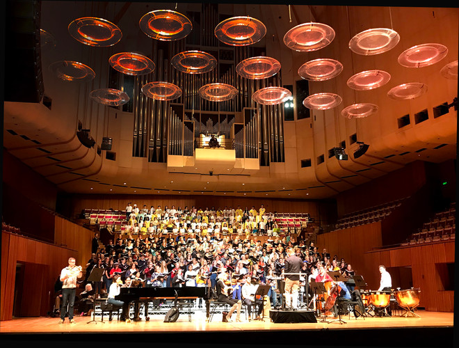 Orphenians at the Sydney Opera House summer 2018