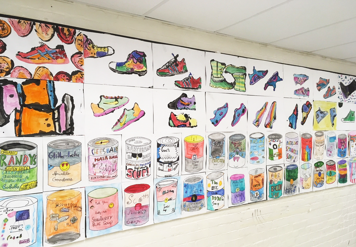 KHS artists' display