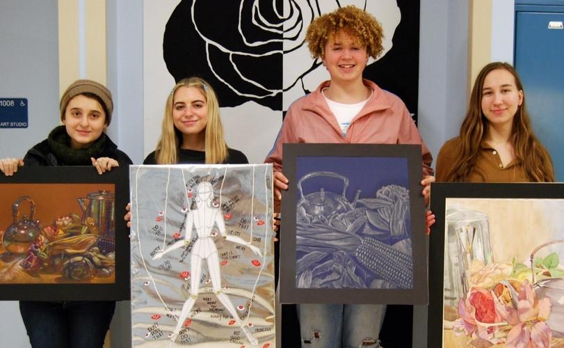 SHSScholastic Art Awards winners