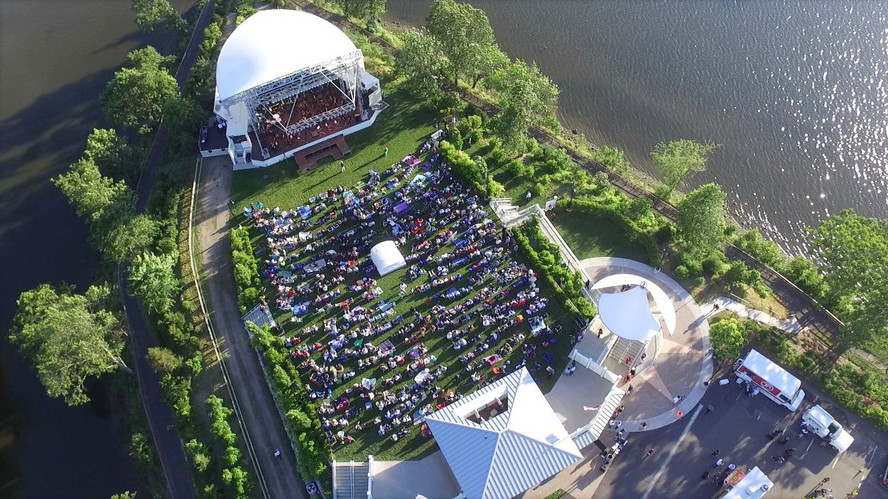 Pops Concert at the Levitt Pavilion for the Performing Arts in Westport