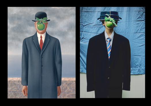 Recreating Masterpieces: Magritte